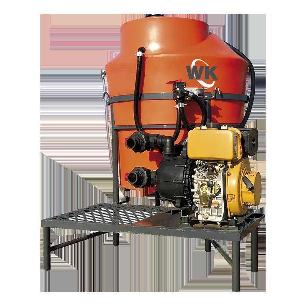 Otimização oferecida pelo pré misturador de calda