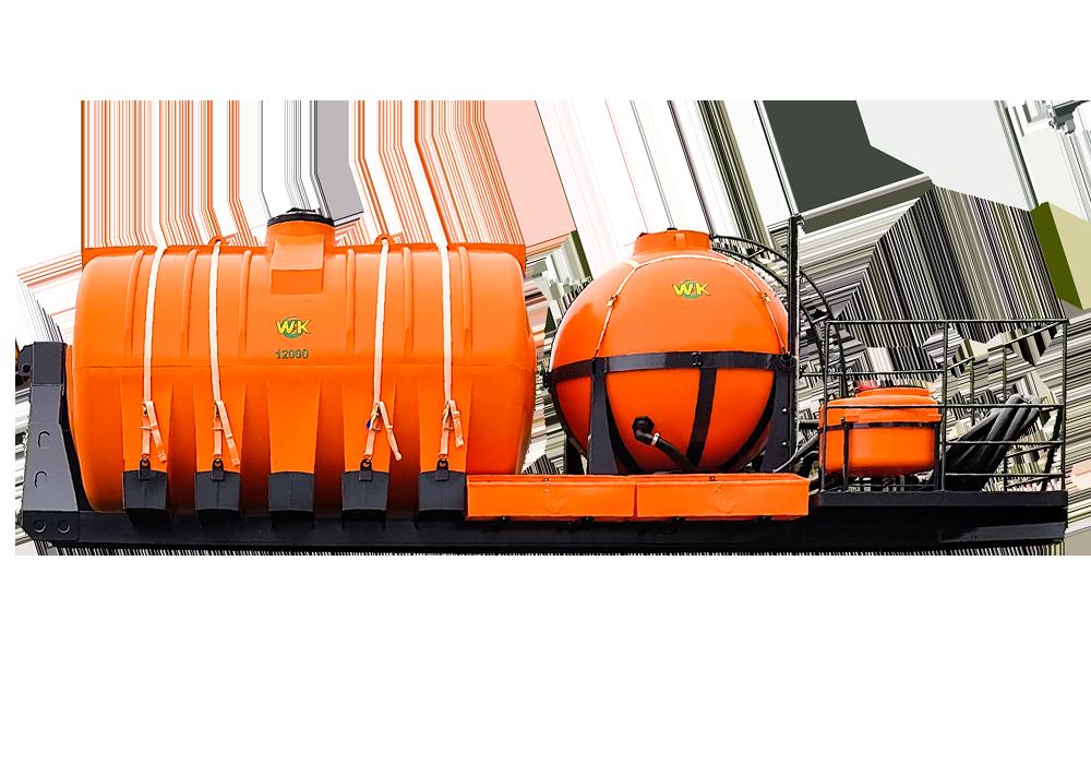 Importância do tanque abastecedor de pulverizador