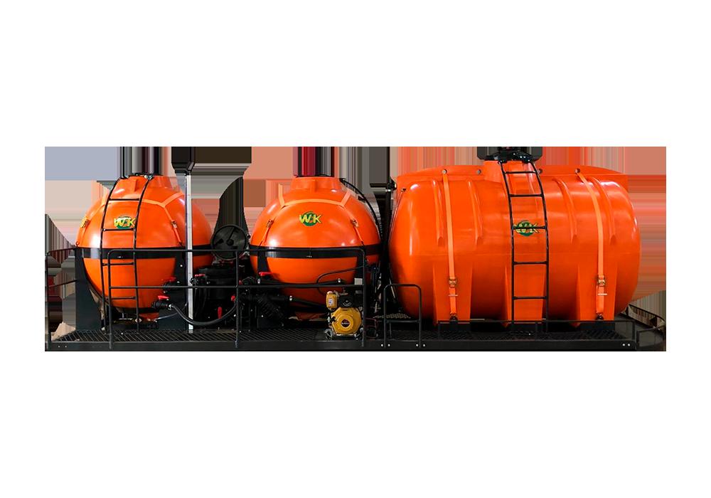 Características do tanque agitador industrial