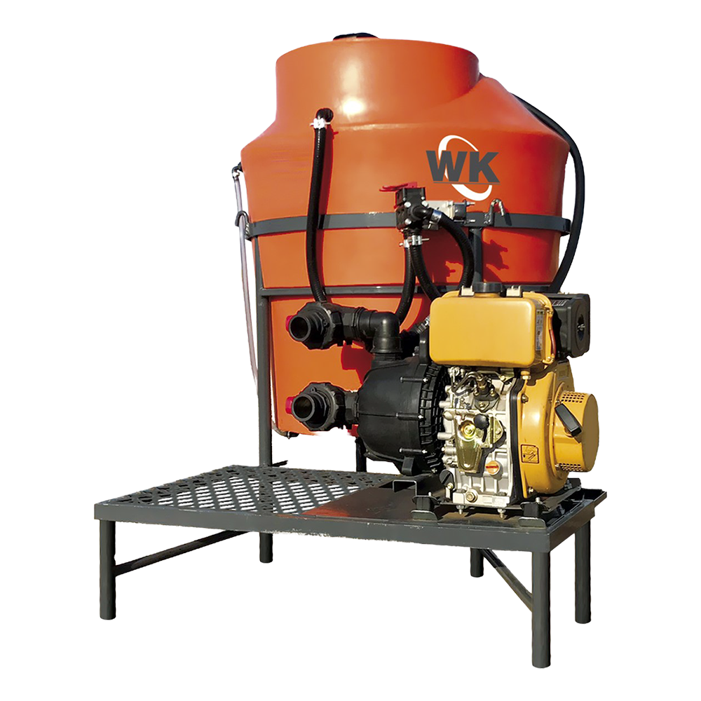 Eficiência do misturador de calda para defensivos